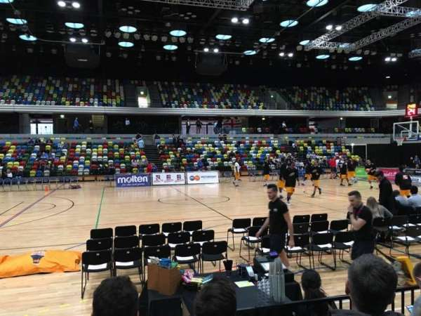 Copper Box Arena, secção: 111, fila: 4, lugar: 88