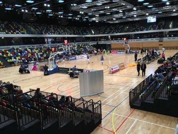 Copper Box Arena, secção: 114, fila: 9, lugar: 18