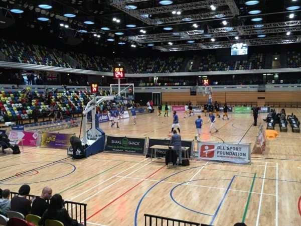 Copper Box Arena, secção: 114, fila: 7, lugar: 35