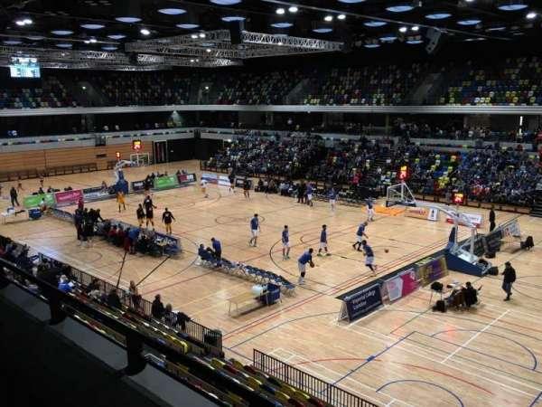 Copper Box Arena, secção: 202, fila: 12, lugar: 23