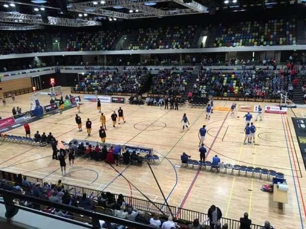 Copper Box Arena, secção: 203, fila: 12, lugar: 56