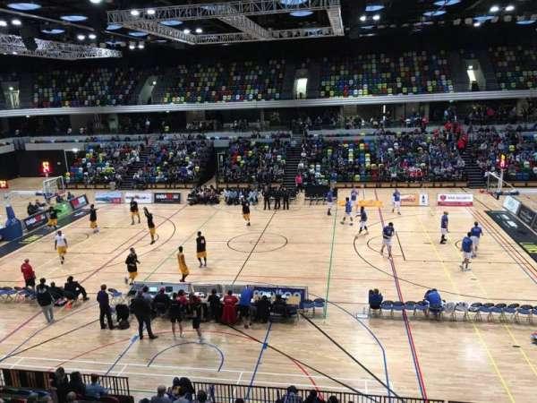 Copper Box Arena, secção: 204, fila: 12, lugar: 68