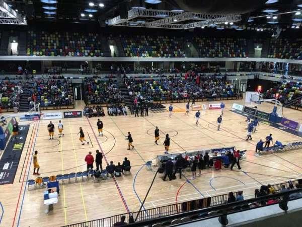 Copper Box Arena, secção: 205, fila: 13, lugar: 101