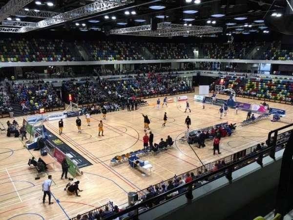 Copper Box Arena, secção: 205, fila: 13, lugar: 125