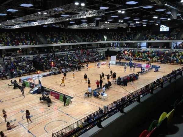 Copper Box Arena, secção: 206, fila: 13, lugar: 138