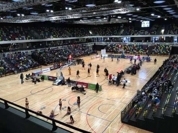 Copper Box Arena, secção: 206, fila: 12, lugar: 15