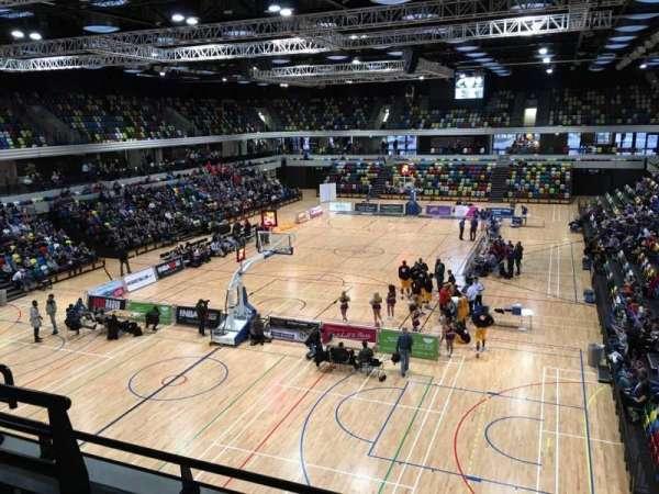 Copper Box Arena, secção: 207, fila: 13, lugar: 30