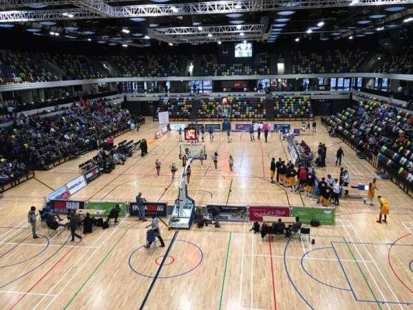 Copper Box Arena, secção: 207, fila: 12, lugar: 47