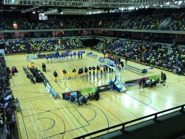 Copper Box Arena, secção: 208, fila: 14, lugar: 85
