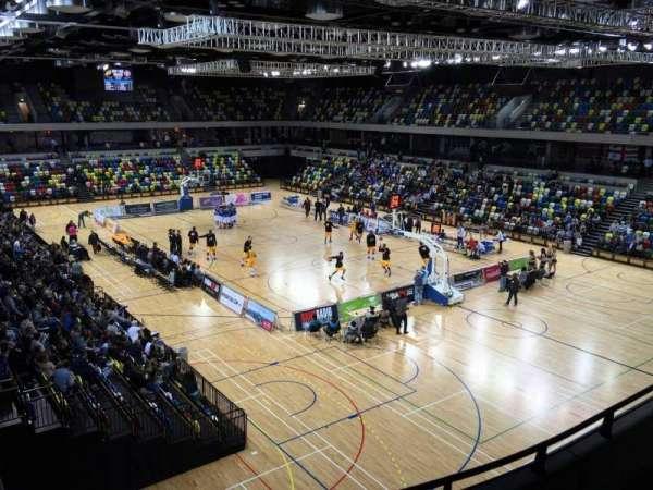 Copper Box Arena, secção: 209, fila: 15, lugar: 99