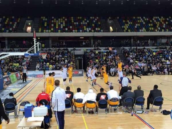 Copper Box Arena, secção: 105, fila: 5, lugar: 101