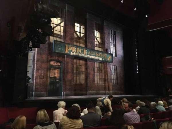 Adelphi Theatre, secção: Stalls, fila: G, lugar: 34