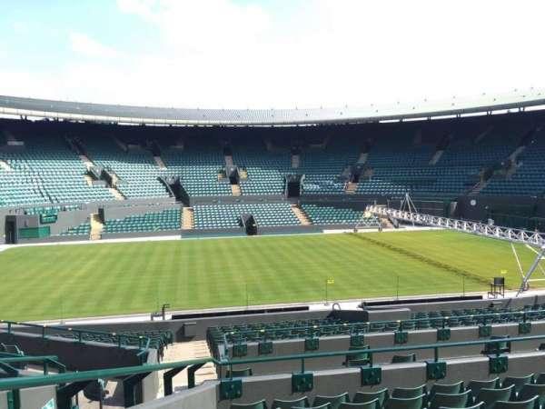 Wimbledon, Court No. 1, secção: 28, fila: G, lugar: 195