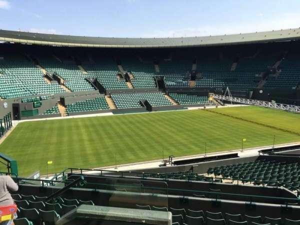 Wimbledon, Court No. 1, secção: 32, fila: J, lugar: 280