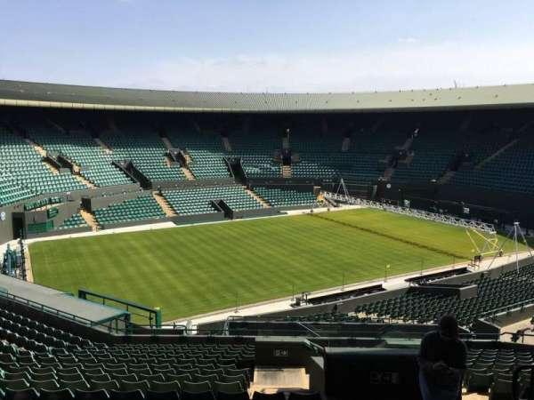 Wimbledon, Court No. 1, secção: 37, fila: R, lugar: 245