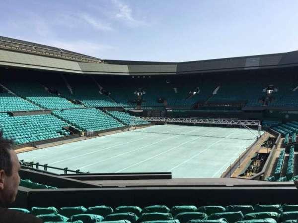 Wimbledon, Centre Court, secção: 205, fila: F, lugar: 156