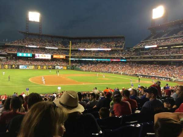 Citizens Bank Park, secção: 133, fila: 34, lugar: 11