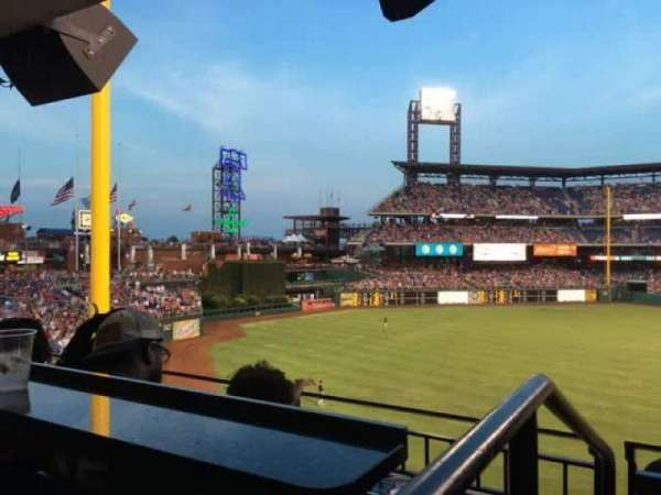 Citizens Bank Park, secção: Suite 2, fila: 2, lugar: 6