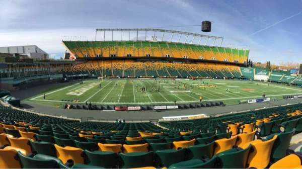 Commonwealth Stadium (Edmonton), secção: X, fila: 25, lugar: 5