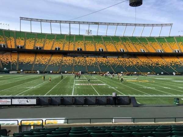 Commonwealth Stadium (Edmonton), secção: V, fila: 10, lugar: 13