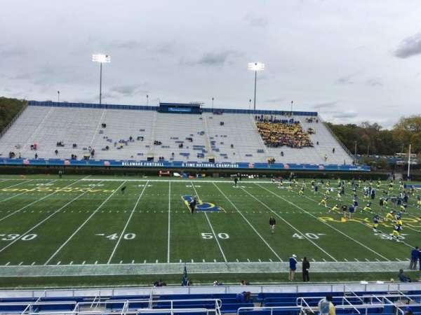 Delaware Stadium, secção: D, fila: R, lugar: 23