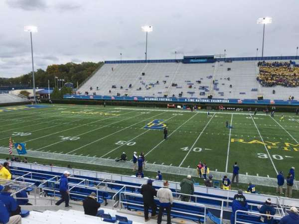 Delaware Stadium, secção: C, fila: N, lugar: 15