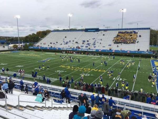 Delaware Stadium, secção: A, fila: T, lugar: 5
