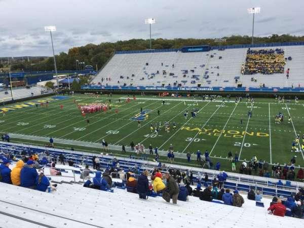 Delaware Stadium, secção: B, fila: Jj, lugar: 12