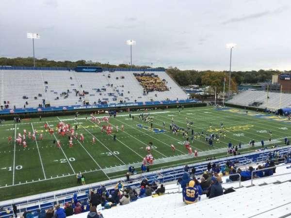 Delaware Stadium, secção: F, fila: Ll, lugar: 20
