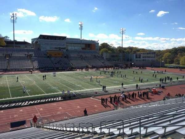 Johnny Unitas Stadium, secção: 107, fila: DD, lugar: 8