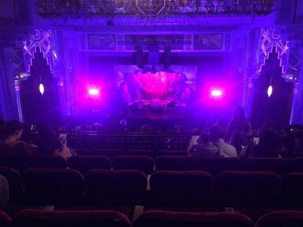 Hollywood Pantages Theatre, secção: Mezzanine C, fila: Q, lugar: 104