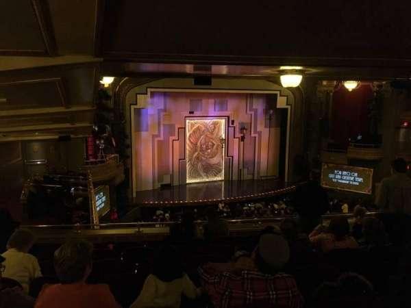 Lyric Theatre, secção: Dress Circle Left, fila: G, lugar: 25