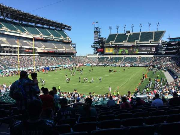 Lincoln Financial Field, secção: 112, fila: 30, lugar: 12