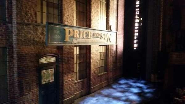 Al Hirschfeld Theatre, secção: Left Box, fila: A, lugar: 3