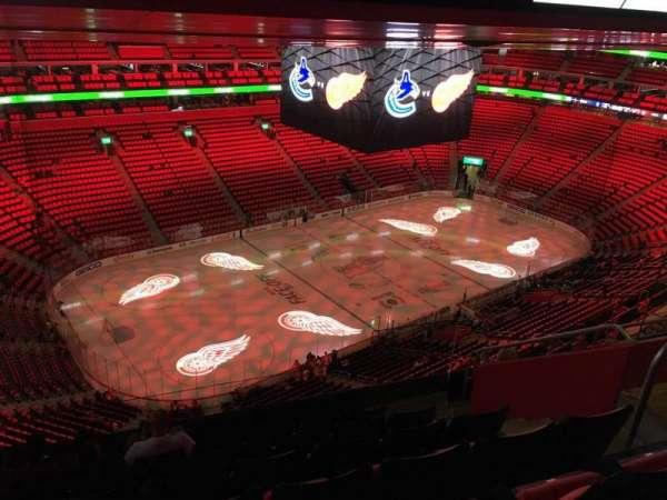 Little Caesars Arena, secção: 230, fila: 8, lugar: 8