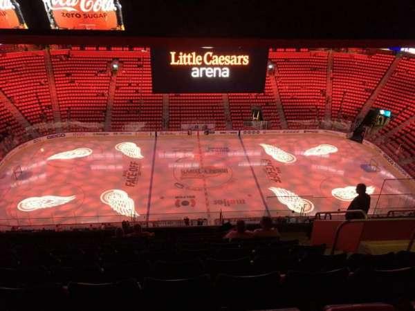 Little Caesars Arena, secção: 227, fila: 10, lugar: 7