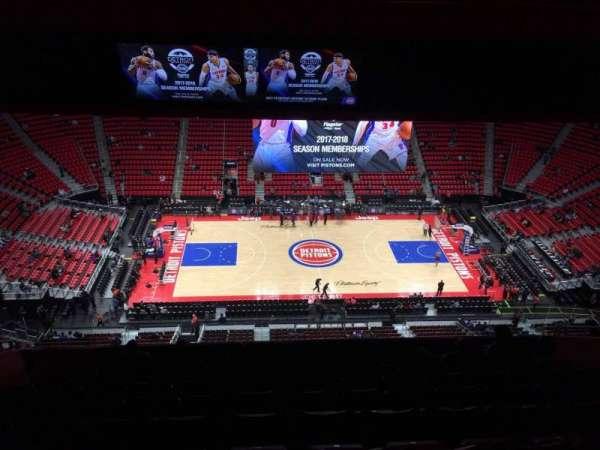 Little Caesars Arena, secção: 212, fila: 11, lugar: 12