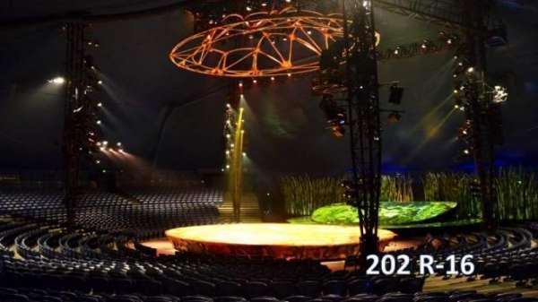 Cirque Du Soleil - Totem, secção: 202, fila: R, lugar: 16