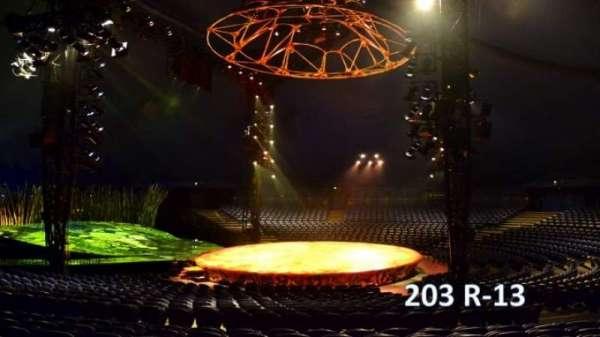 Cirque Du Soleil - Totem, secção: 203, fila: R, lugar: 13