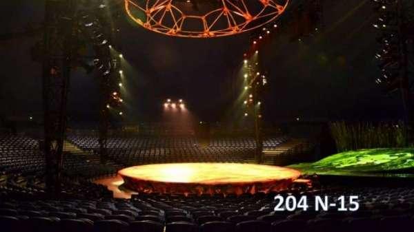 Cirque Du Soleil - Totem, secção: 204, fila: N, lugar: 15