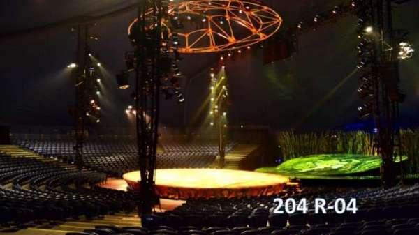 Cirque Du Soleil - Totem, secção: 204, fila: R, lugar: 4