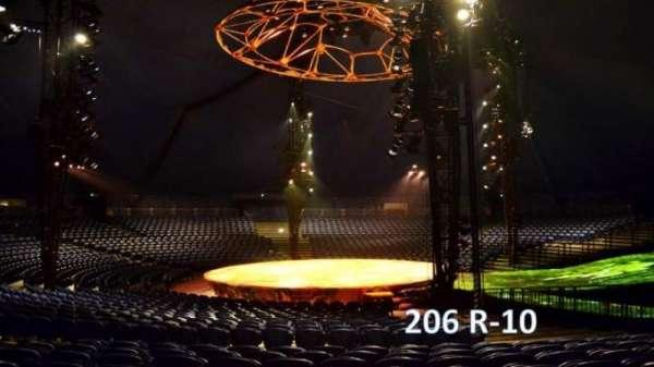 Cirque Du Soleil - Totem, secção: 206, fila: R, lugar: 10