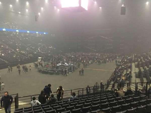AccorHotels Arena, secção: B, fila: 10, lugar: 25