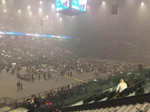 AccorHotels Arena, secção: D, fila: 9, lugar: 18