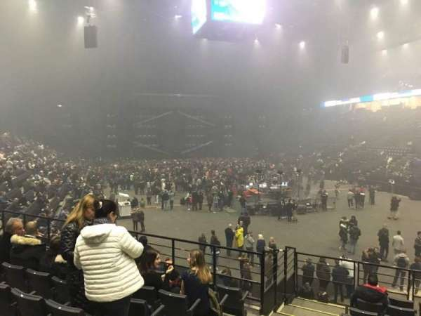 AccorHotels Arena, secção: T, fila: 14, lugar: 10