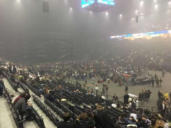 AccorHotels Arena, secção: S, fila: 10, lugar: 10