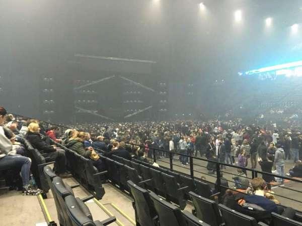 AccorHotels Arena, secção: R, fila: 23, lugar: 30