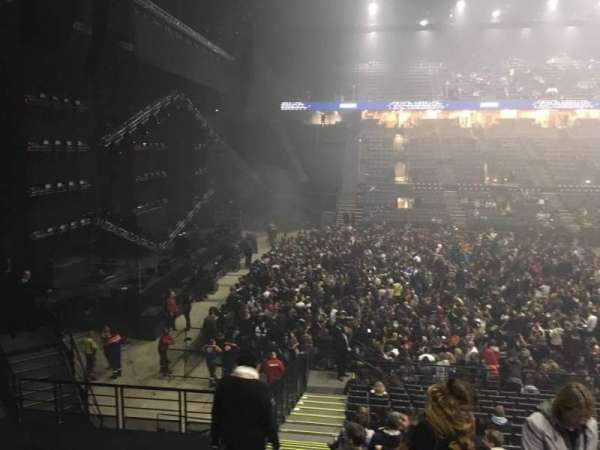 AccorHotels Arena, secção: N, fila: 10, lugar: 25