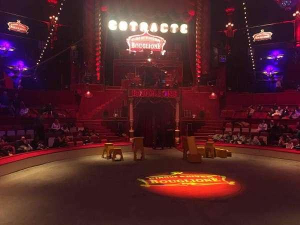Cirque d'hiver, secção: A, fila: C, lugar: 1