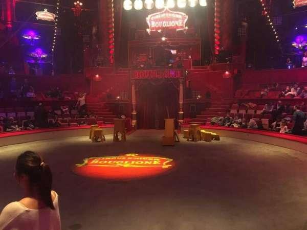 Cirque d'hiver, secção: A, fila: C, lugar: 2